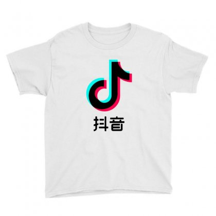 Chinese Tik Tok Youth Tee Designed By Fejena