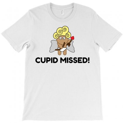 Cupid Missed! T-shirt Designed By Perfect Designers