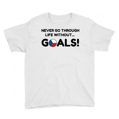 Czech Goals Youth Tee Designed By Perfect Designers
