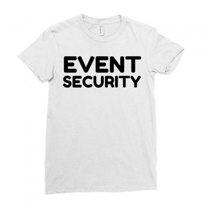 Event Security Ladies Fitted T-shirt Designed By Perfect Designers