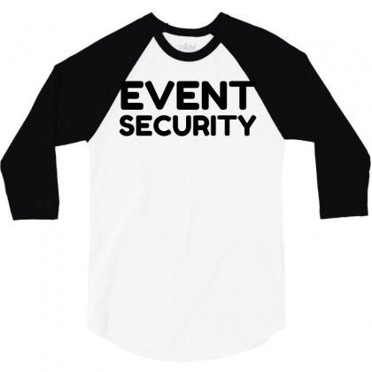 Event Security 3/4 Sleeve Shirt Designed By Perfect Designers