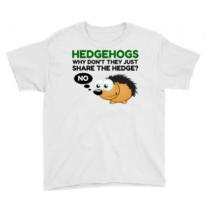 Hedgehog Share Youth Tee Designed By Perfect Designers