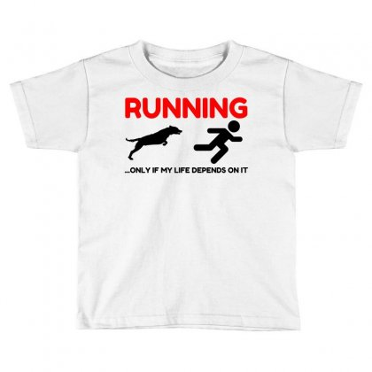 Hate Running Toddler T-shirt Designed By Perfect Designers
