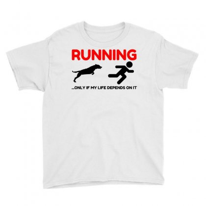 Hate Running Youth Tee Designed By Perfect Designers