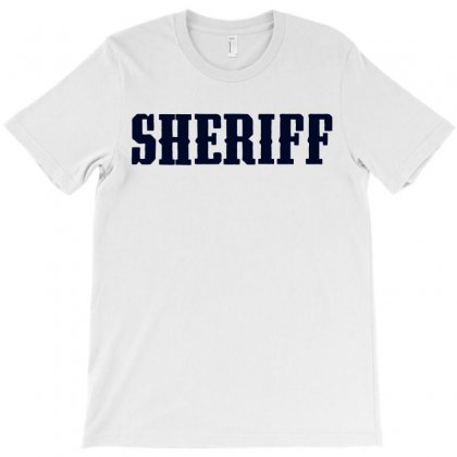 Sheriff T-shirt Designed By Sabriacar