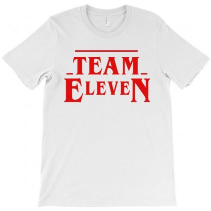 Stranger Things Team Eleven T-shirt Designed By Toweroflandrose