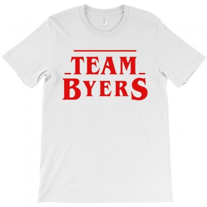 Stranger Things Team Byers T-shirt Designed By Toweroflandrose