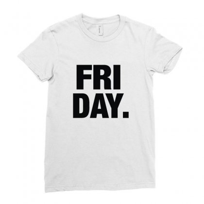 Friday Cool Ladies Fitted T-shirt Designed By Enjang