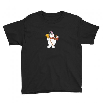 Frosty The Snowman New Sku Youth Tee Designed By Enjang