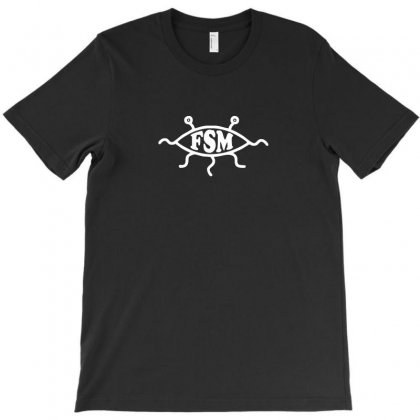 Fsm Church Of The Flying Spaghetti Monster T-shirt Designed By Enjang