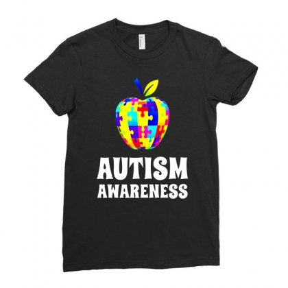 Awareness Ladies Fitted T-shirt Designed By Fejena