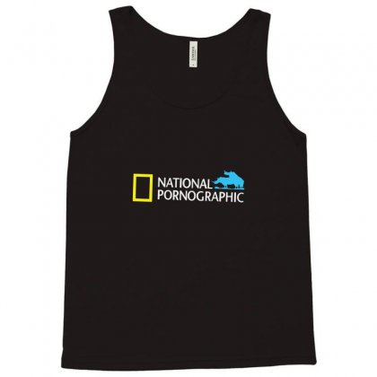 Funny National Geographic Pornographic Rhino Porn Dirty Tank Top Designed By Enjang