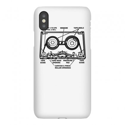 Mix Tape Stuff Iphonex Case Designed By Teesclouds