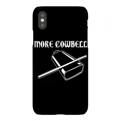 Cowbell Iphonex Case Designed By Teesclouds