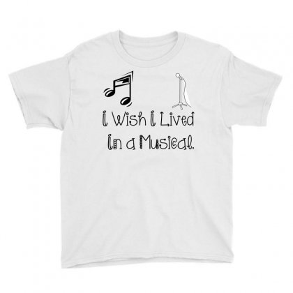 Live In Musical Youth Tee Designed By Perfect Designers