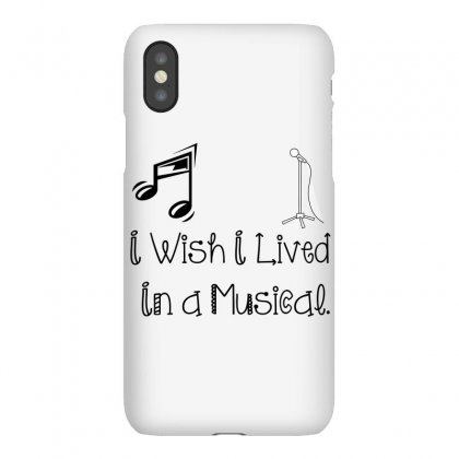 Live In Musical Iphonex Case Designed By Perfect Designers