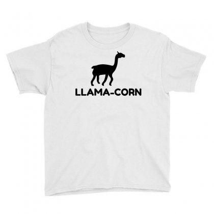 Llama Corn Youth Tee Designed By Perfect Designers