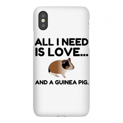 Love And A Guinea Pig Iphonex Case Designed By Perfect Designers