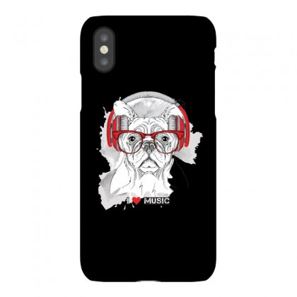 Dog Love Music Iphonex Case Designed By Jade