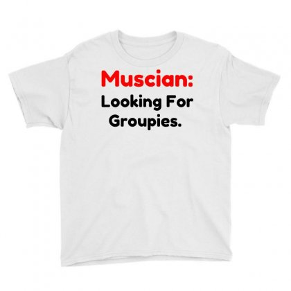 Musician Groupies Youth Tee Designed By Perfect Designers
