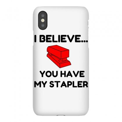 My Stapler Iphonex Case Designed By Perfect Designers