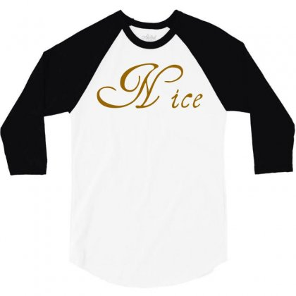 Nice Christmas Couple 3/4 Sleeve Shirt Designed By Perfect Designers