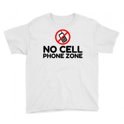 No Cell Phone Zone Youth Tee Designed By Perfect Designers