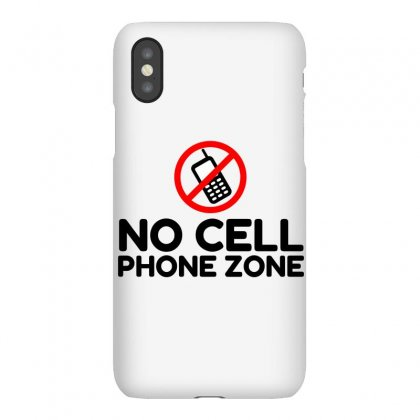 No Cell Phone Zone Iphonex Case Designed By Perfect Designers