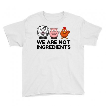 Not Ingredients Youth Tee Designed By Perfect Designers