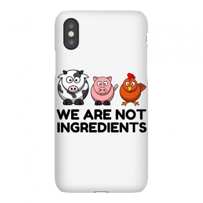 Not Ingredients Iphonex Case Designed By Perfect Designers