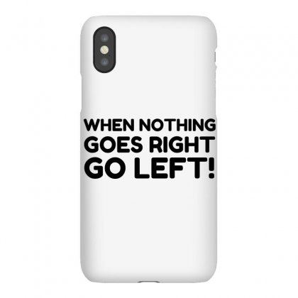 Nothing Goes Right Iphonex Case Designed By Perfect Designers