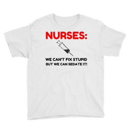 Nurses Sedated Youth Tee Designed By Perfect Designers