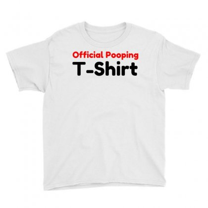 Official Pooping Shirt Youth Tee Designed By Perfect Designers