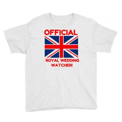Official Royal Wedding Watcher! Youth Tee Designed By Perfect Designers