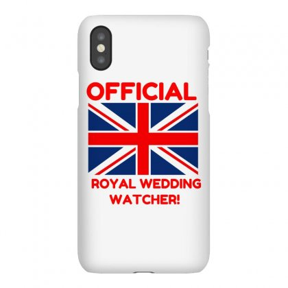 Official Royal Wedding Watcher! Iphonex Case Designed By Perfect Designers