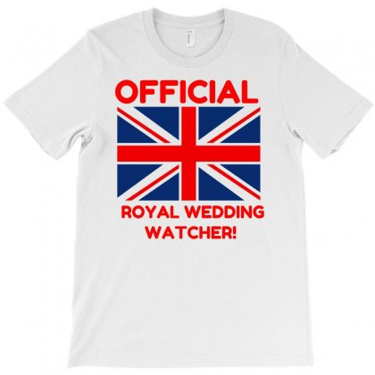 Official Royal Wedding Watcher! T-shirt Designed By Perfect Designers