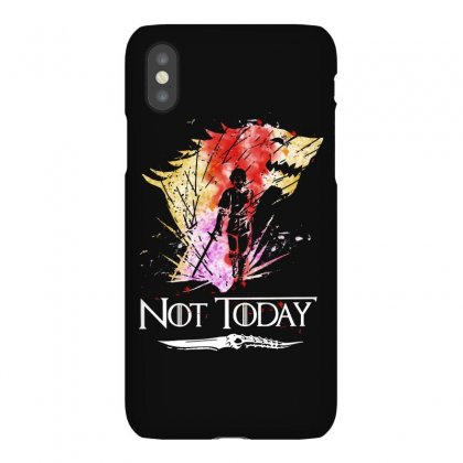 Cool Not Today Game Of Thrones Iphonex Case Designed By Balqis Tees