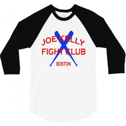 Joe Kelly Fight Club 3/4 Sleeve Shirt Designed By Vanitty