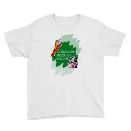 Back To School Welcome Youth Tee Designed By Akin
