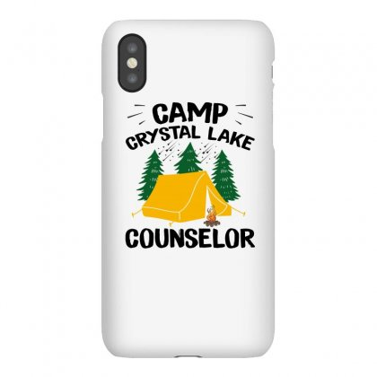 Camp Crystal Lake Counselor Iphonex Case Designed By Seniha