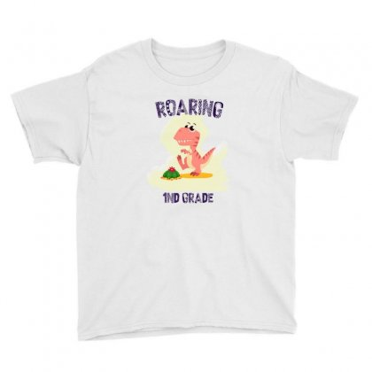 Back To School Dinosaurs Youth Tee Designed By Akin