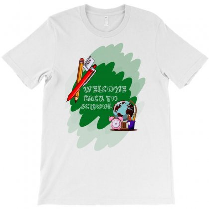 Back To School Welcome T-shirt Designed By Akin
