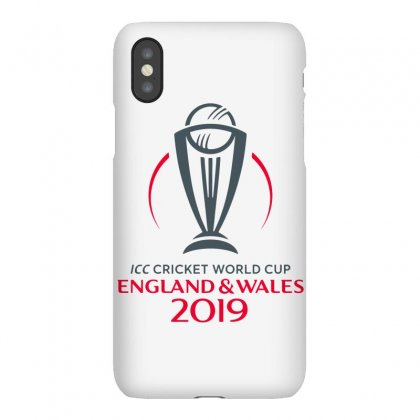 Icc Cricket World Cup England&wales 2019 Logo Iphonex Case Designed By Cuser1898