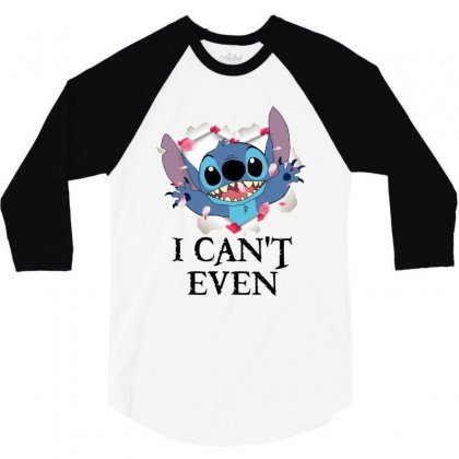 I Can't Even For Light 3/4 Sleeve Shirt Designed By Sengul