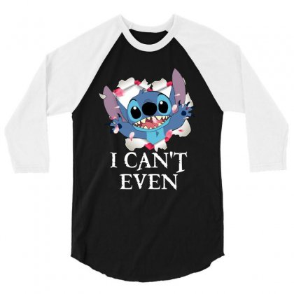 I Can't Even For Dark 3/4 Sleeve Shirt Designed By Sengul