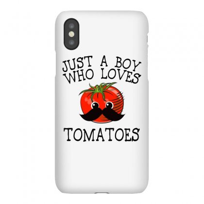 Just A Boy Who Loves Tomatoes For Light Iphonex Case Designed By Sengul