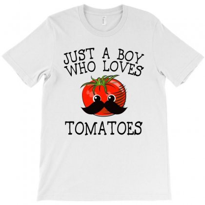 Just A Boy Who Loves Tomatoes For Light T-shirt Designed By Sengul