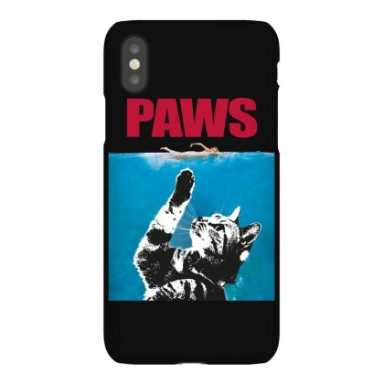 Paws   Cat Kitten Meow Parody Iphonex Case Designed By Omer Acar