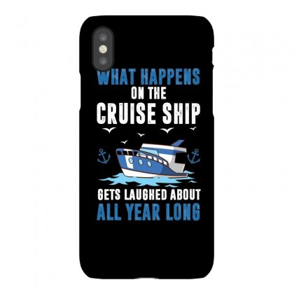 What Happens On The Cruise Ship Gets Laughed About Iphonex Case Designed By Omer Acar