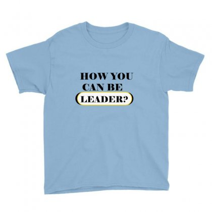 Leader Youth Tee Designed By Said Designer